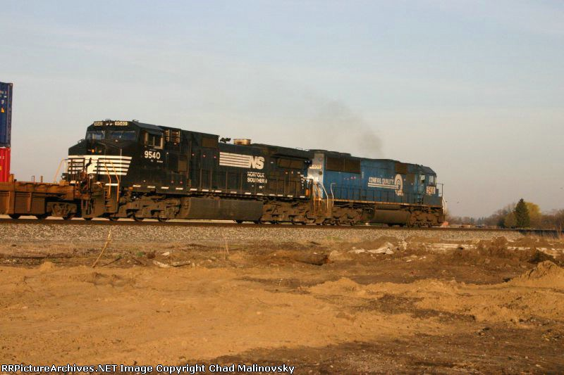 2 trains on the NKP